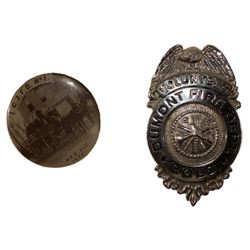 Two Colorado Fire Badges