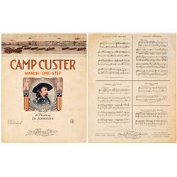 Camp Custer Sheet Music