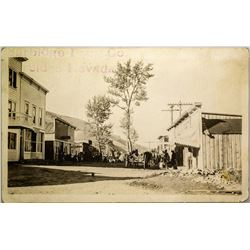 Jarbidge Main Street Real Photo Postcard