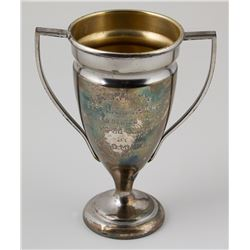 Silver Plated 1935 Softball Trophy