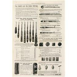 Ultra Rare Souvenir Agate Mining Spoons, Made in Denver, c1892-1895