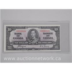 Bank of Canada 1937 - Ten Dollar Note (EF)