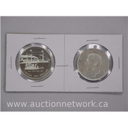 2x Canada Silver Dollar Coin 1951-1991 (ATTN: 2 Times the bid price)