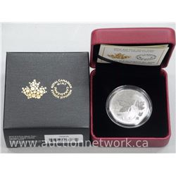 .9999 Fine Silver Maple Leaf Coin. Limited Edition with Cert.