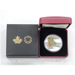 2015 - Forests of Canada - High Tech .9999 Fine Silver $20.00 Coin Limited Edition with Certificate.