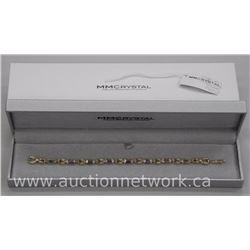 Ladies (Michelle Merizzi) 'Atelier' Designer - Custom Bracelet with Fancy Cut Swarovski Elements Set