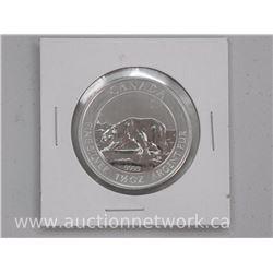 2013 .9999 Fine Silver 'Polar Bear' 1 1/2 Troy Ounce.