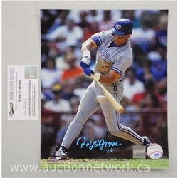'Roberto Alomar' Blue Jay 8x10 (CE) Signed with Cert