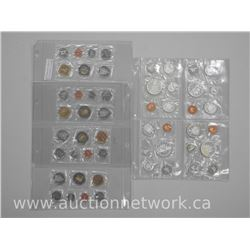 8x Proof Like Mint Coin Set: 1961, 1962, 1963, 1964 (4.4 Troy Ounce) and 2006, 2007, 2008, 2009 (ATT