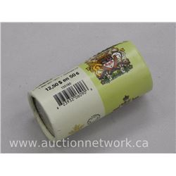 Original Mint Roll 2015 - Coat of Arms Canada Fifty Cent Coins