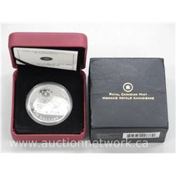 Royal Canadian Mint - .9999 Fine Silver Coin 'Royal Hudson' Limited Edition with Certificate.