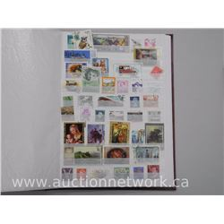 Estate Stamp Collection with Handbook.