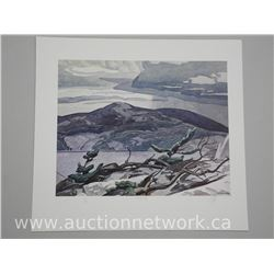 "A.J Casson (1898-1992) Casson's Casson Series Volume 1 Signed and Numbered Litho ""Fraser Bay"" Approx"