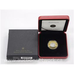 2006 - 10th Anniversary 22kt Gold 'Toonie' Limited Edition / 3000 WW - Rare with Limited Edition Cer