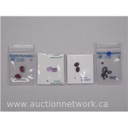 4x Gemstone Parcels: Tourmaline, Amethyst, Sapphires and Garnet (ATTN: 4 Times the bid price)