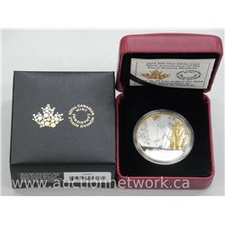 .9999 Fine Silver R.O.M. Limited Edition Collector Coin with 24kt Gold Overlay.