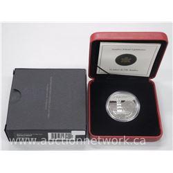 Natural Wonders .9999 Fine Silver $20.00 Coin - Sambro Island