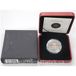 Natural Wonders .9999 Fine Silver $20.00 Coin - Hopewell Rocks