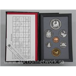1988 Canada Proof Double Dollar Mint Coin Set with Silver Dollar