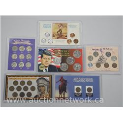 6x USA Mint Coin Sets Collector Issues (ATTN: 6 Times the bid price)