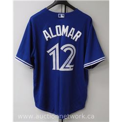 """Roberto Alomar"" Blue Jays Jersey Signed with Cert."