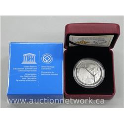 2015 - .9999 Fine Silver $20.00 Royal Canadian Mint Coin: Wood Buffalo and Giant Panda Coin. Limited