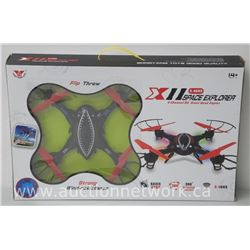 4 Channel Radio Control Stunt Quadcopter. (2.4GHZ Flip Throw Pro Series)