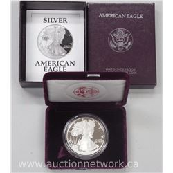 .9999 Fine Silver American Eagle Coin (Proof with Case)