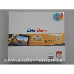 Eblu-Berry Tablet - 'Android' 3-G 2-Sim Card Capability, 8GB Flash, RAM-1GB, 7 Inch Display, Camera,