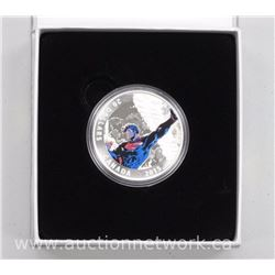 2015 - $20.00 .9999 Fine Silver Superman Coin Unchained # 2 (2013) with Cert. Sold Out.