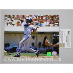 "Blue Jays ""George Bell"" 8x10 Signed with Cert (ce)"