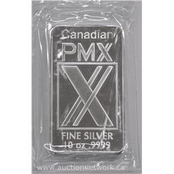 CPM - .9999 Fine Pure Silver Bullion 10 ounce Bar.