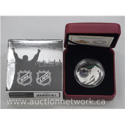 Royal Canadian Mint - .9999 Fine Silver NHL $10.00 Vancouver Canucks - Coin