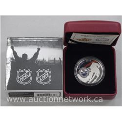 Royal Canadian Mint - .9999 Fine Silver NHL $10.00 Edmonton Oilers - Coin