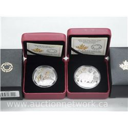 2x .9999 Fine Silver 2014 and 2016 Dinosaur Limited Edition Collector Coins (ATTN: 2 Times the bid p