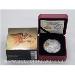 .9999 Fine Silver Royal Canadian Mint Collector Coin $20.00 'Sabre Tooth-Cat' Limited Edition with C