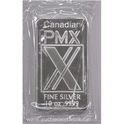 CPM .9999 Fine Pure Silver 10 ounce Bullion Bar