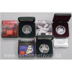 3x .925 Sterling Silver Proof Canada Dollar 1997,1998 and 1999 (ATTN: 3 Times the bid price)