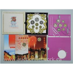 3x 'Hong Kong' Mint Coin Sets (ATTN: 3 Times the bid price)