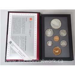 1992 Proof Mint .925 Sterling Silver Coin Set