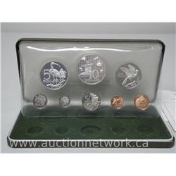 1974 Trinidad and Tobago Proof .925 Sterling Silver Coin Set.