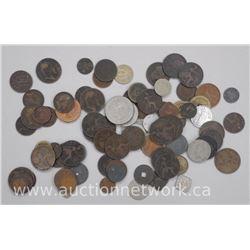 Estate Lot World Coins Good Mix.