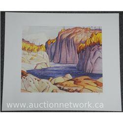 "A.J Casson 1898-1992 ""Platinum Portfolio Image"" ""Winter Sun"", Approx. 26x36"" Unframed with Original"