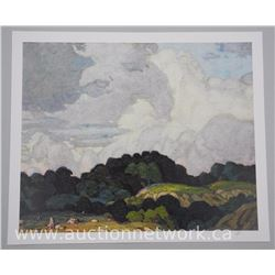 "A.J. Casson (1898-1992) - Ontario Series II ""Sunlit Hill"". Approx. 24x20"" Unframed with Original Sig"