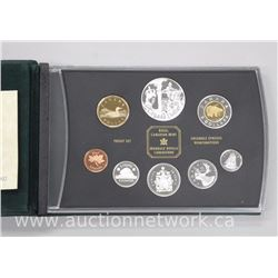2002 .925 Sterling silver with Canada Dollar Proof Mint Set