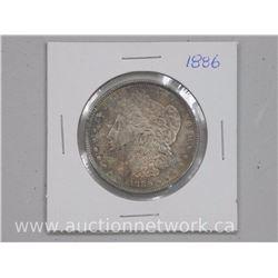 1886 USA Silver Morgan Dollar Coin (MS64)
