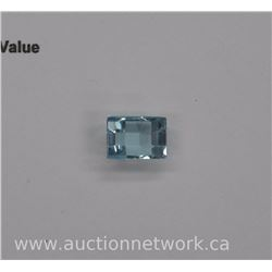 Loose Gemstone- Rectangle Cut (6.90ct) VG Cut- Eye Clean. Appraised $1100.00