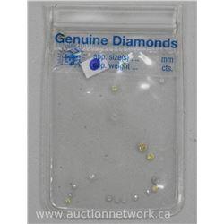 Estate Parcel lot Genuine Diamonds. Jewelers Stock.