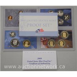 2009 USA Proof Mint Set. (4 Sets Matched)