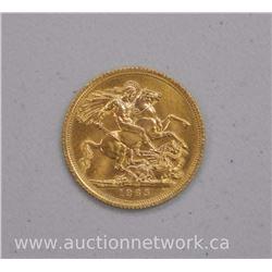 1965 22kt Gold British Sovereign